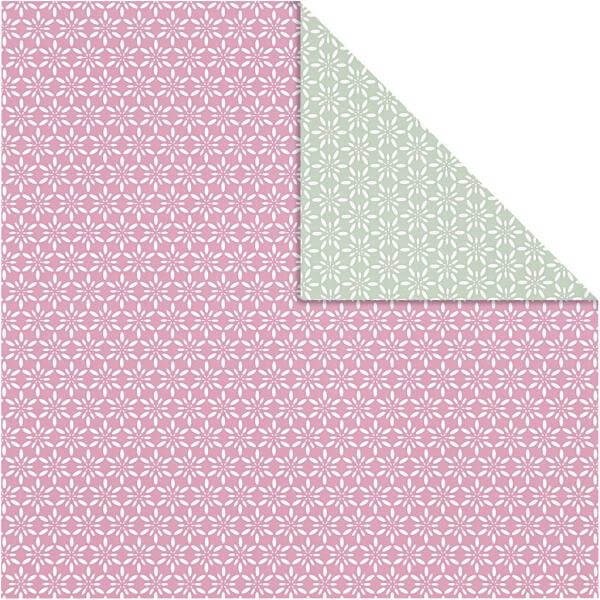 double sided gift wrapping paper - choose from green or pink